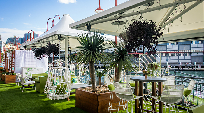 This new harbourside restaurant is the perfect place for ladies who lunch