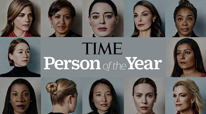 TIME magazine's Person of the Year is not a person, but a movement