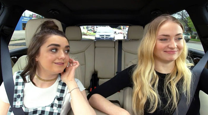 The Stark sister's Carpool Karaoke is the road trip you want to be on