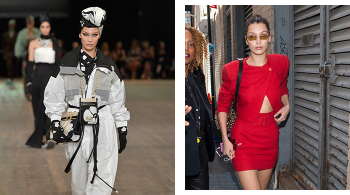 Bella Hadid is nailing Fashion Month on and off the runway