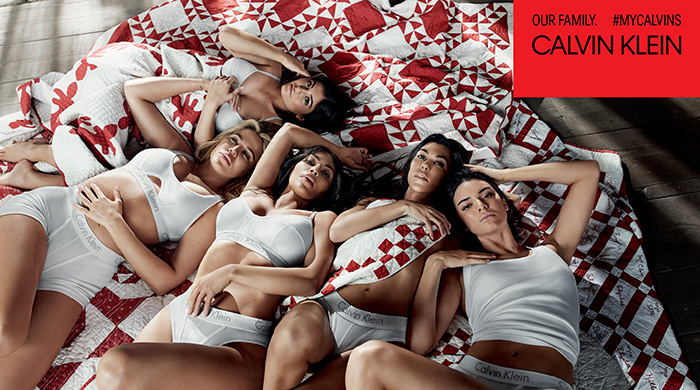 The Kardashian sisters' Calvin Klein campaign fuels pregnancy rumours