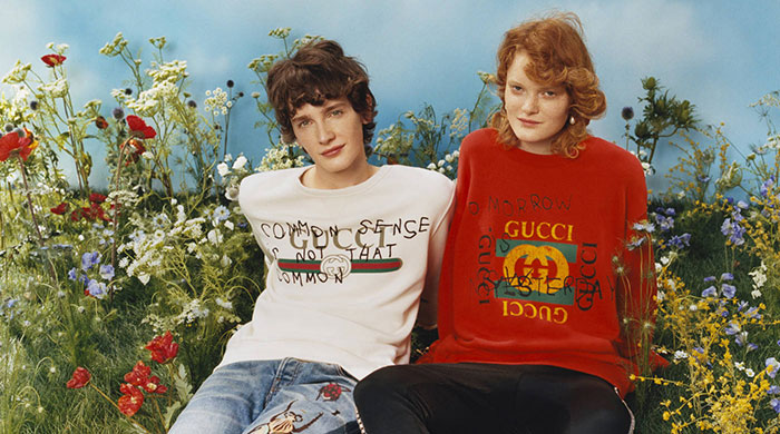 The new logo tee: Gucci x Coco Capitán capsule collection