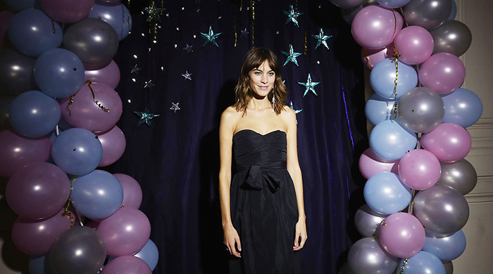 Alexa Chung goes to prom with her latest collection