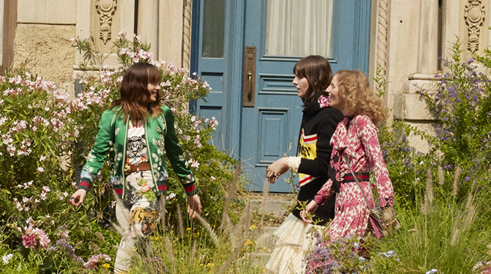 Watch Dakota Johnson bloom in her new Gucci campaign