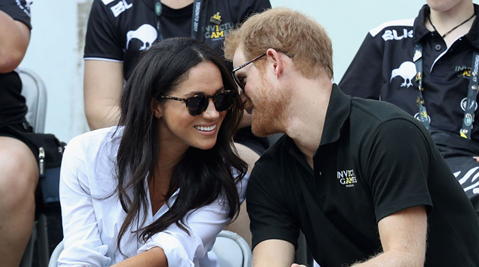 Status update: Prince Harry and Meghan Markle make it official