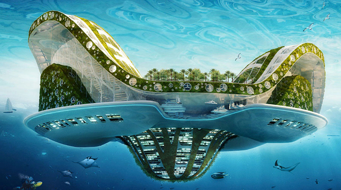 'Waterworld': soon you'll be able to live on a floating city