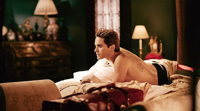 Jared Leto's next role is at the Playboy Mansion