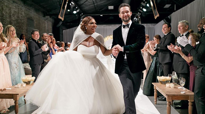Love match: inside Serena Williams' fairy-tale wedding