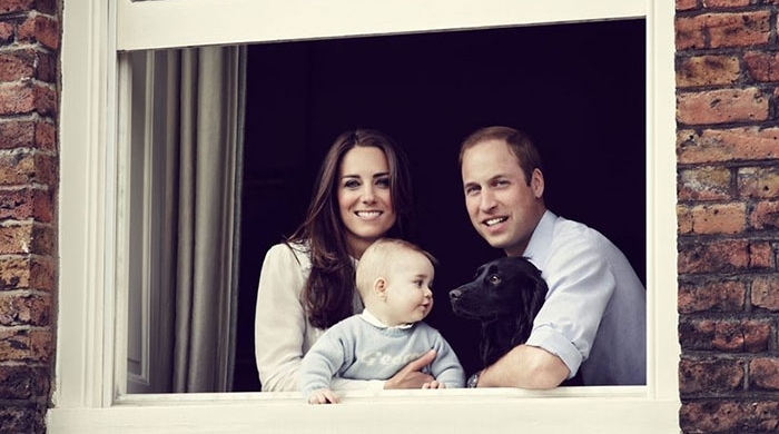 Oh baby! A look through Kate and William's royal family album