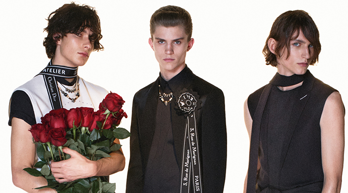 Dior Homme is popping up somewhere very familiar
