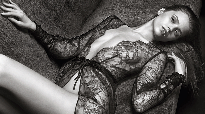 Abbey Lee gets raunchy in Agent Provocateur's new campaign