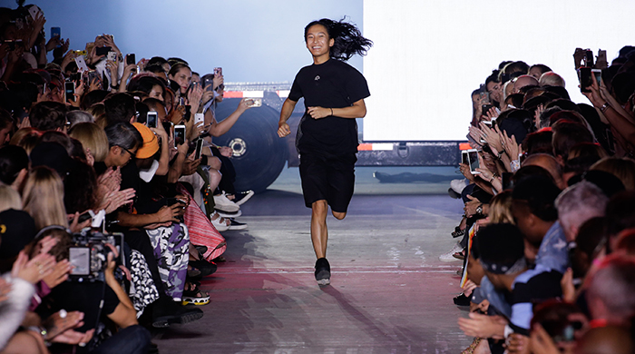 Alexander Wang is the latest designer to disrupt NYFW