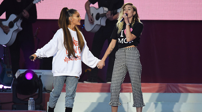 Watch Ariana Grande (and friends) slay her return to the Manchester stage