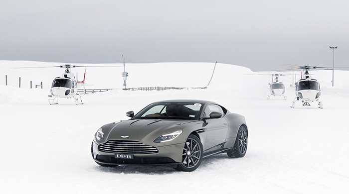 Zen and the art of ice driving in Aston Martins