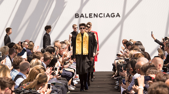 Paris Fashion Week highlights: Balenciaga's Men's show