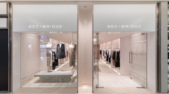 Millennial pink addict? Check out Bec & Bridge's first-ever store
