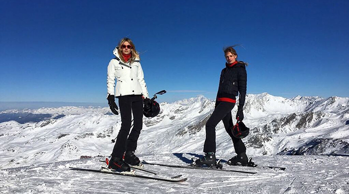 Camille Charriere and Constance Jablonski share their ski tips
