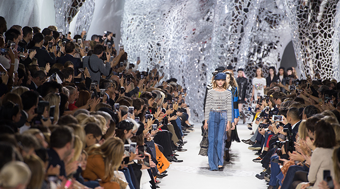 Live from Paris: see Dior's S/S '18 spectacular