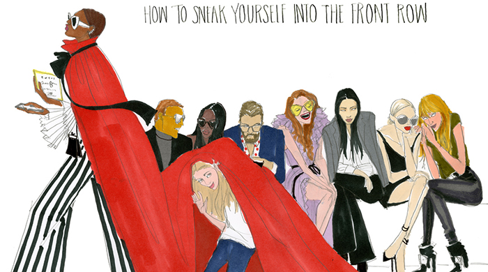 Your (hilarious) illustrated guide to Fashion Week