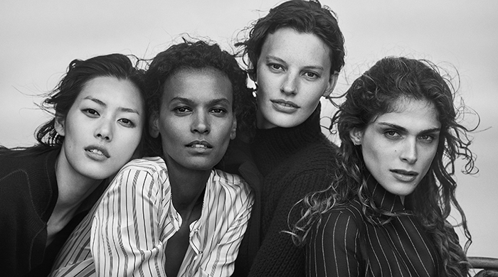 Giorgio Armani's latest campaign celebrates diverse beauty