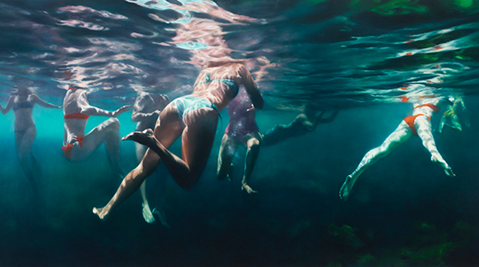 Fully immersed: inside artist Martine Emdur's water-filled universe