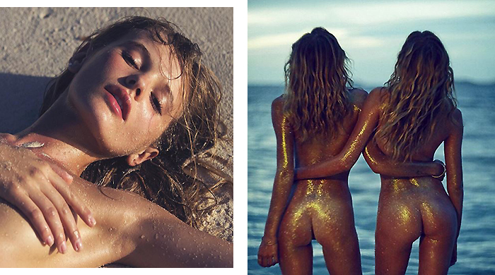 Sex on the beach: 40 models showing some summer skin