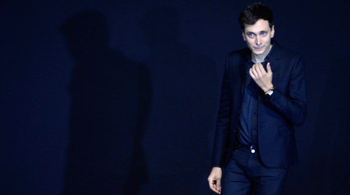 Hedi Slimane reveals his next move after Saint Laurent