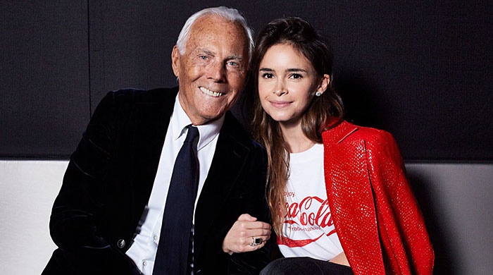 "Giorgio Armani: ""I have no intention of stopping"""