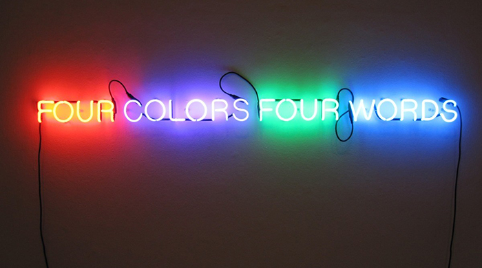 Neon dream: Joseph Kosuth's major Australian exhibition
