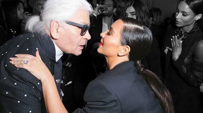 "Karl Lagerfeld has a go at Kim Kardashian: ""She's too public"""