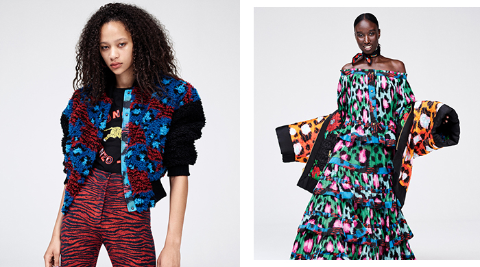 First look: the Kenzo x H&M collab launching tomorrow!