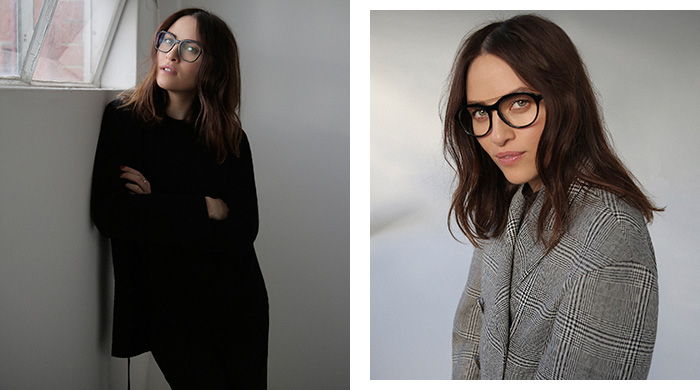 Kym Ellery on eyewear, arguments and French girl style
