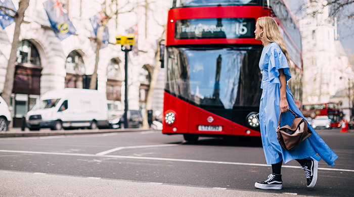 Street style at LFW: London calling