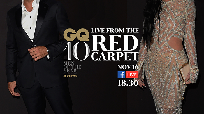 Watch the red carpet at this year's GQ Men Of The Year Awards!