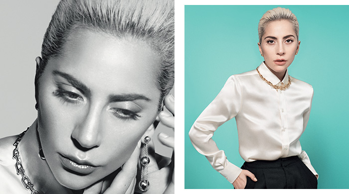 Go behind the scenes with Lady Gaga and Tiffany & Co.