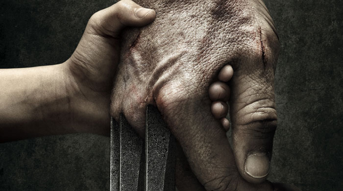 First look at Hugh Jackman in the latest Wolverine film 'Logan'