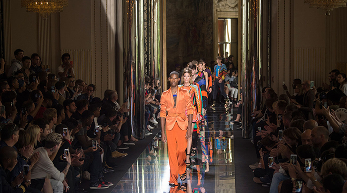 Paris Fashion Week: highlights from Balmain, Dior and Givenchy