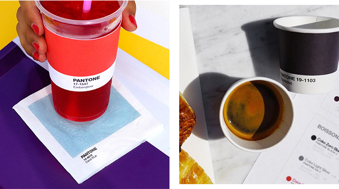 The Pantone café has reopened! Prepare to eat ALL the colours
