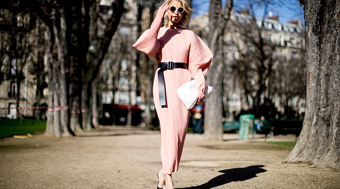 Think pink: Street style's surprise breakout shade