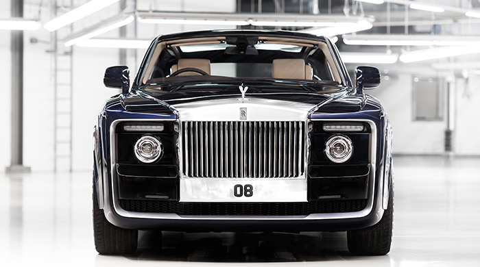 Car couture: This custom-made Rolls-Royce is next level
