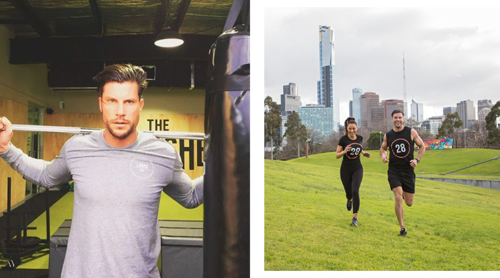 The Bachelor Sam Wood's fitness gig (and how he trains Snezana)