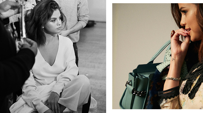 Inside Selena Gomez's just-dropped Coach campaign