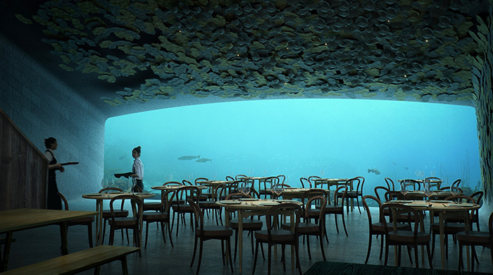 Deep dine: Europe is getting its first underwater restaurant