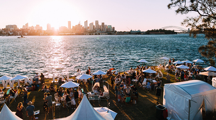 Everyone's favourite festival Wine Island is returning to Sydney Harbour