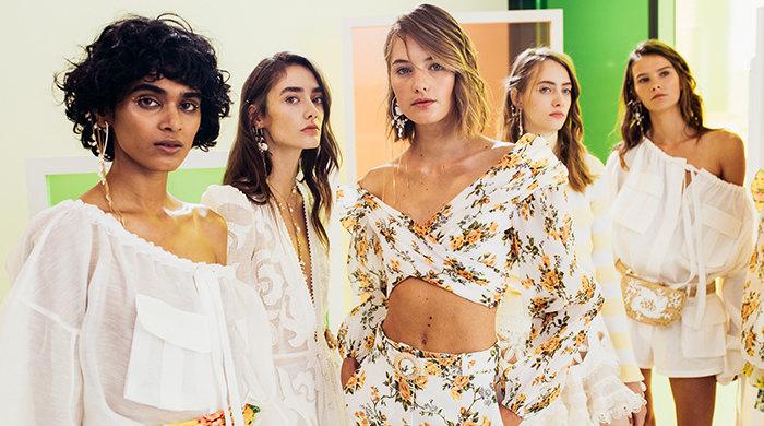 Behind the scenes at Zimmermann's NYFW show