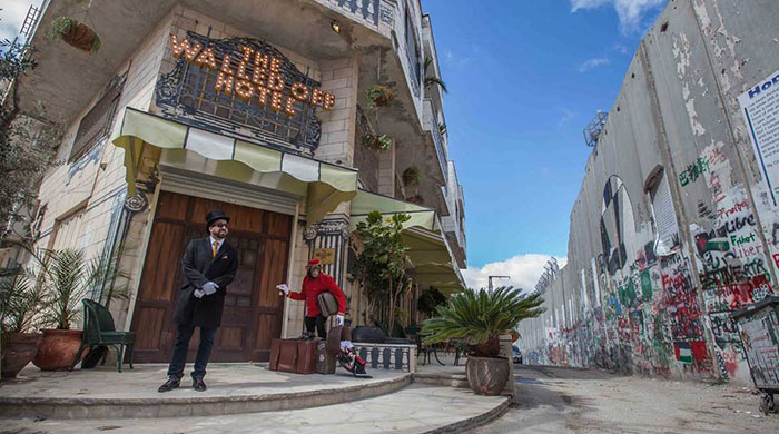 The Walled Off Hotel: Banksy's new project packs a bold political punch