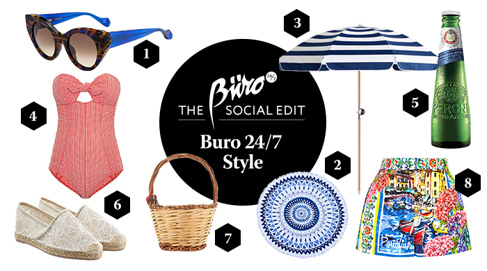 The social edit: the Buro guide to summer essentials