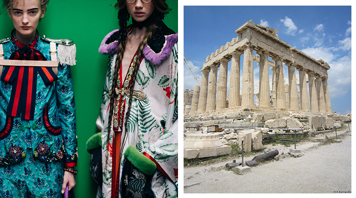Greece forbids Gucci from staging runway show at the Acropolis