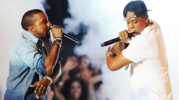 Is the friendship between Kanye and Jay-Z on the rocks?