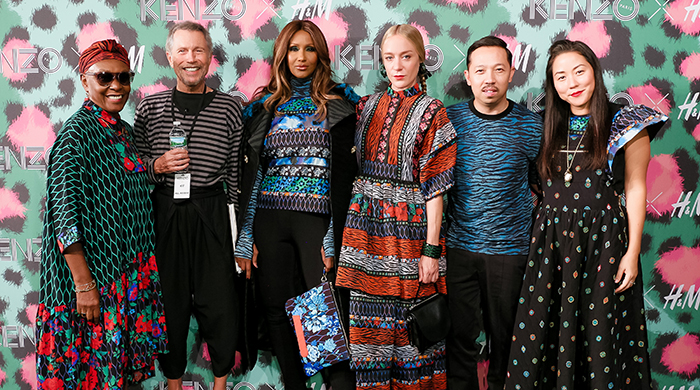 Inside the INSANE Kenzo x H&M launch party